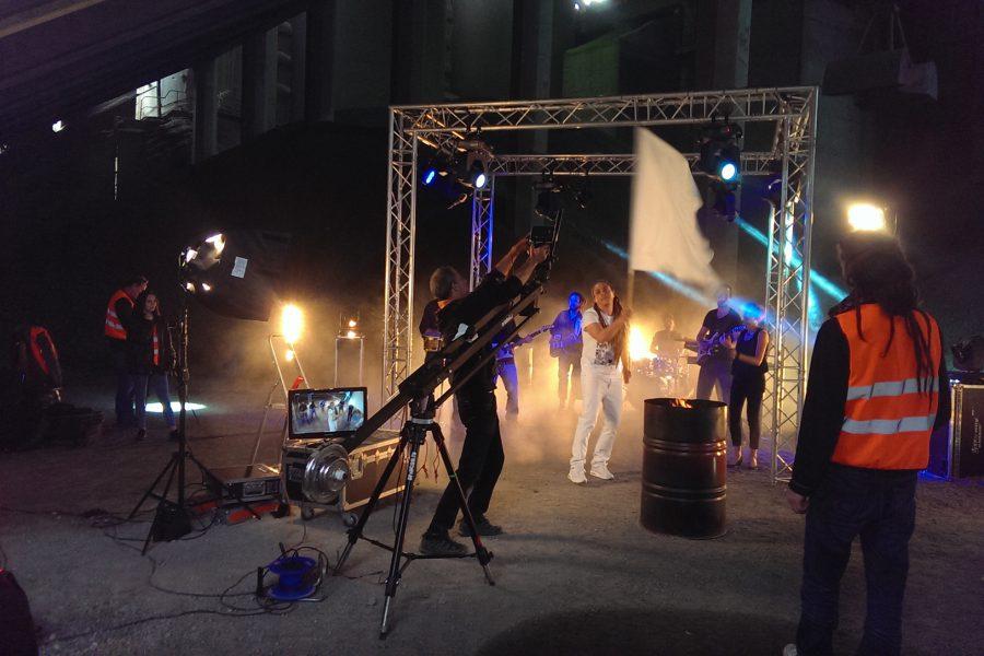 Tournage clip vidéo  «LA LIMITE» – Junior Tshaka
