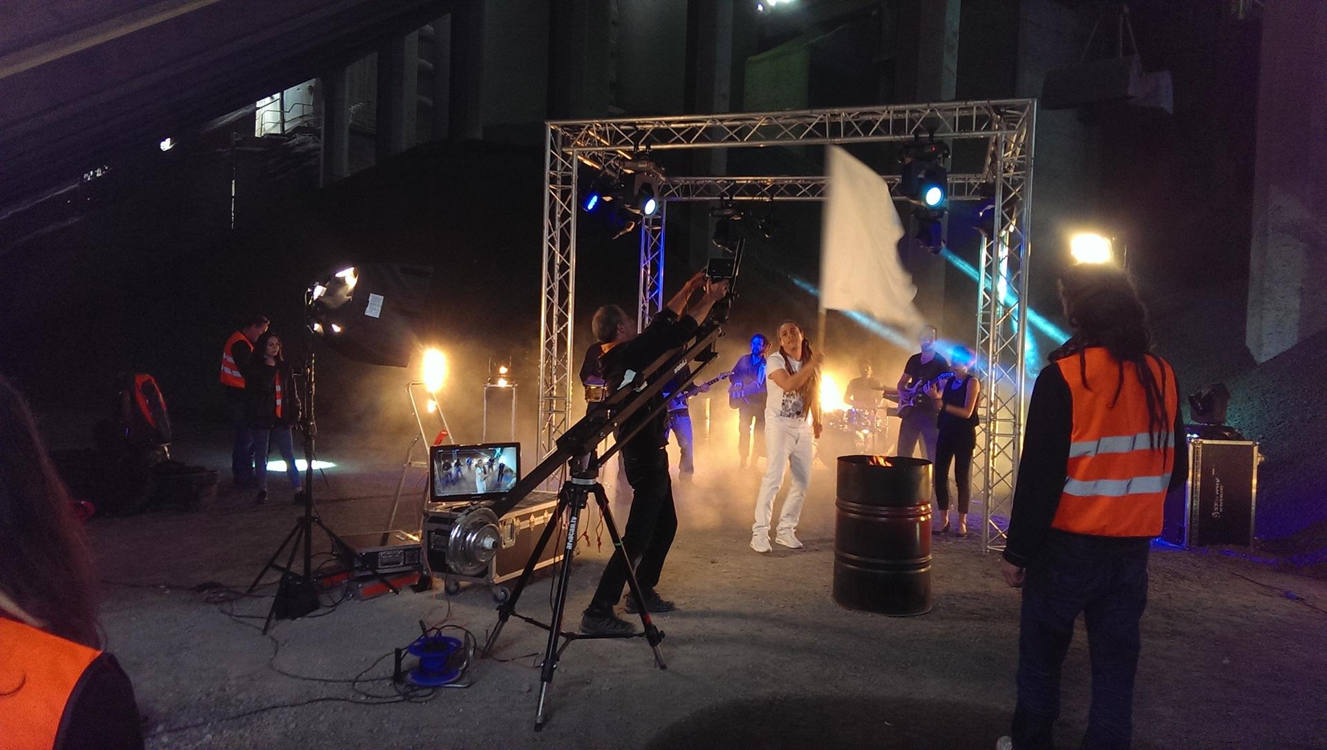 """Tournage clip vidéo  """"LA LIMITE"""" – Junior Tshaka"""