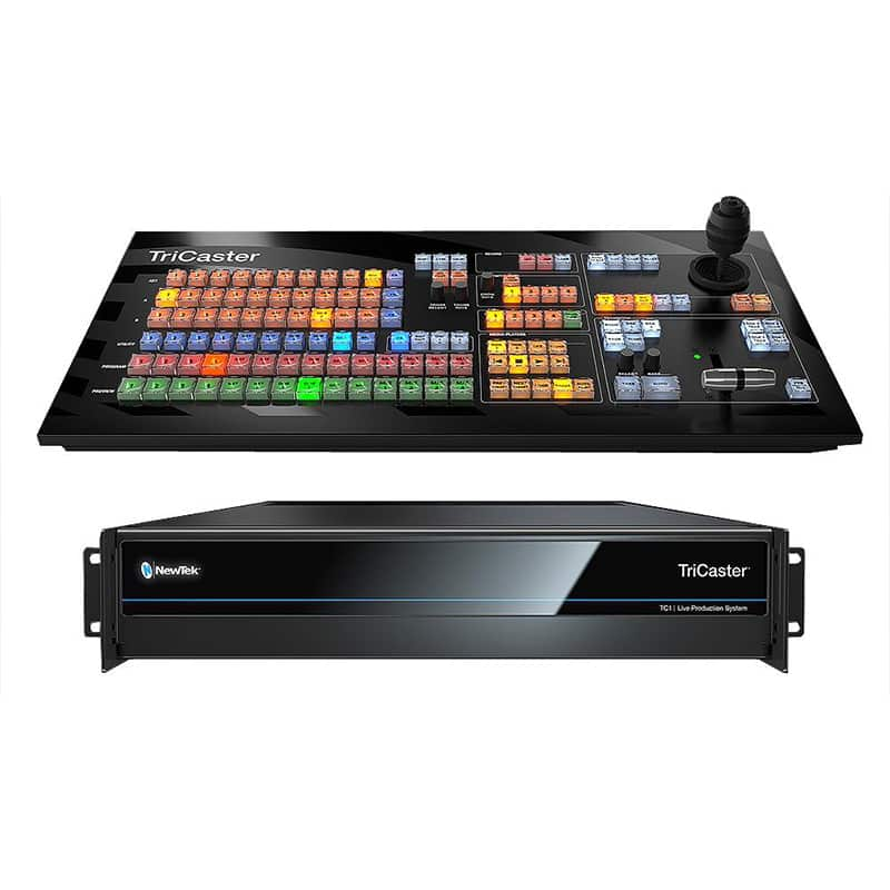 Tricaster-NewTeck broadcast